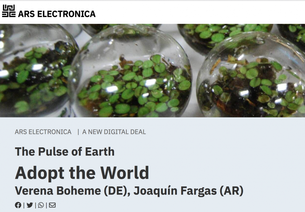 10/9 – ARS Electrónica 2021 – Adopt the World