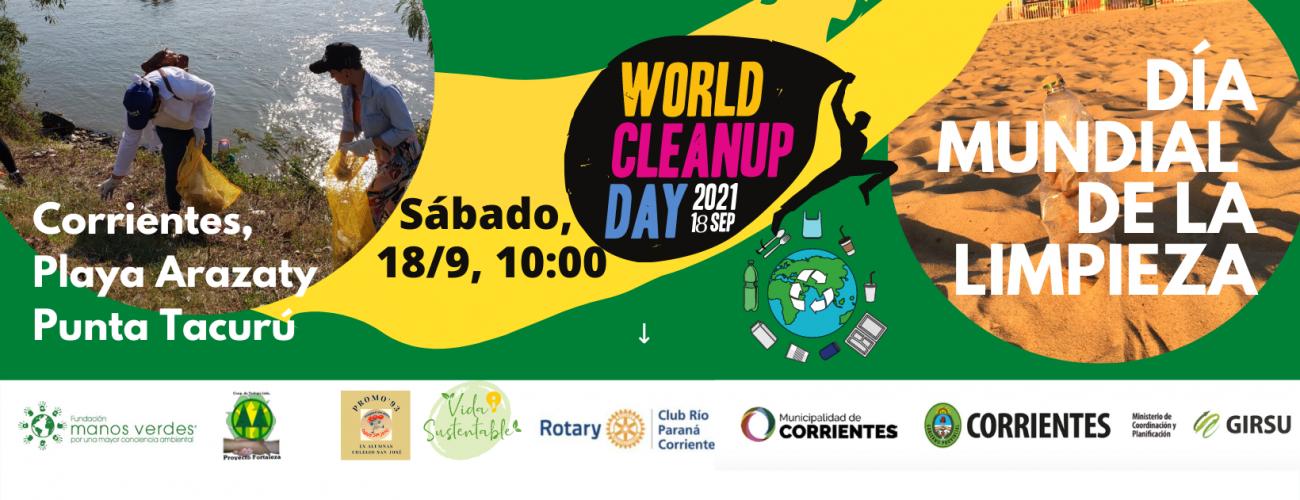 18/9 – Día Mundial de la Limpieza – Corrientes