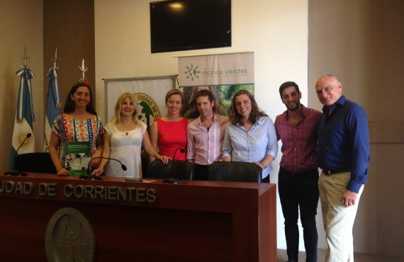 Firma Convenio Municipio de Corrientes
