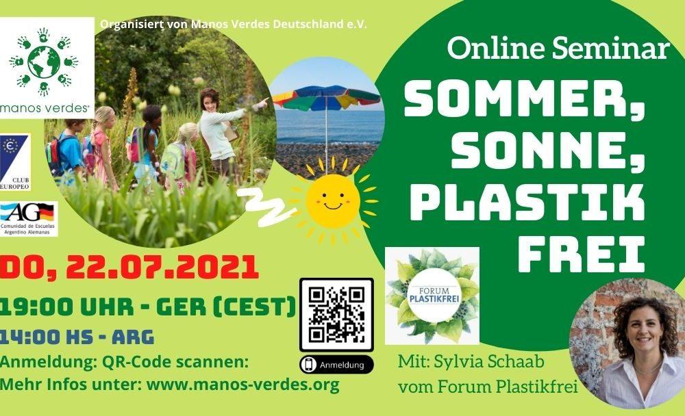 22/7 – Online Seminar: Sommer, Sonne, Plastikfrei