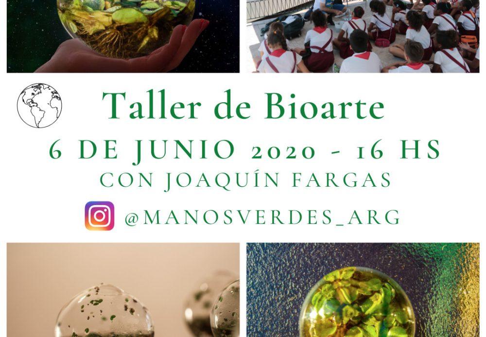Taller de BioArte con Joaquín Fargas