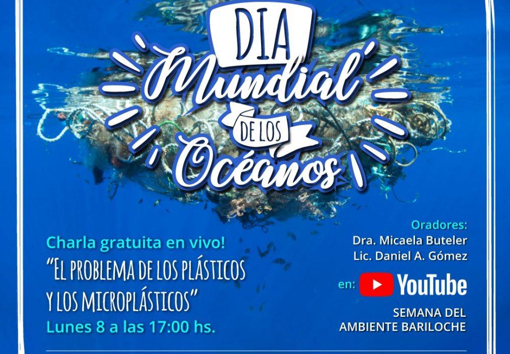 8/6 – Día Mundial de los Océanos: Conferencia sobre el problema de lo plásticos y microplásticos