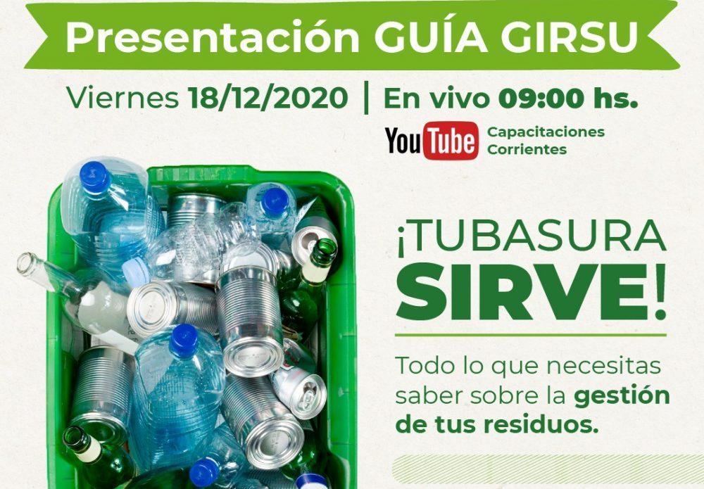 Presentación de la Guia GIRSU – Corrientes