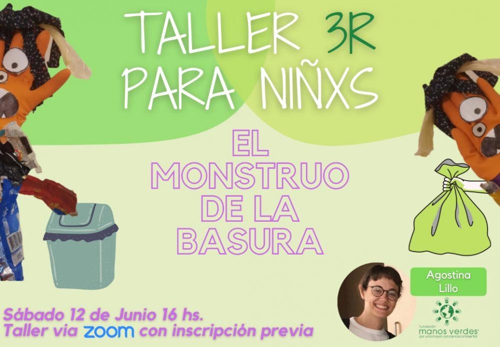 12/6 – Semana del ambiente – Taller de 3R para Niños